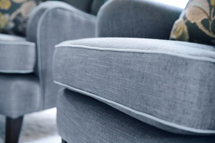 closeup arm chair